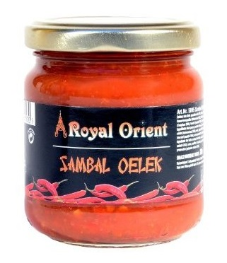 Sambal Oelek chilli paste - Royal Orient 200 g.