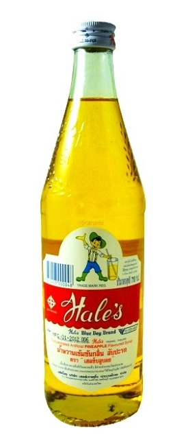 Sciroppo Hale's Blue Boy gusto Ananas - 710 ml.