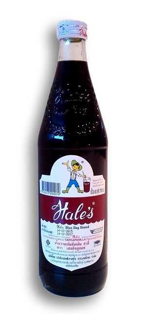 Sciroppo Hale's Blue Boy gusto Sarsaparilla Root Beer - 710 ml.