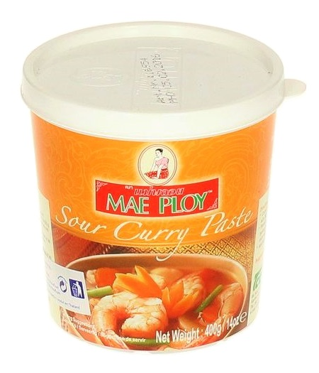 Sour curry paste - Mae Ploy 400 gr.