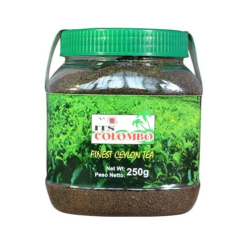 Te nero del Ceylon in polvere - ITS Colombo 250g.