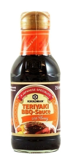 Salsa Teriyaki per barbecue - Kikkoman 250ml.