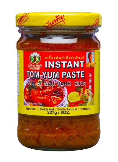 Preparato in pasta per Tom Yum - Pantai Norasingh 227 g.