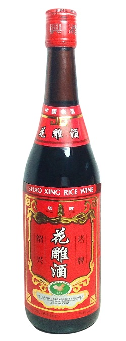 Vino di riso Hua Tiao Chiew - ZW 640ml.