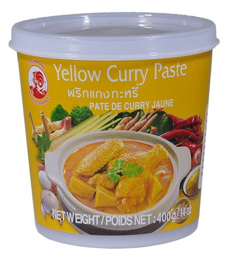 Yellow curry paste - Cock Brand 400 gr.